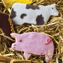 75158 - farmyard novelty shortbread