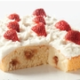 Strawberry & Cream Traybake